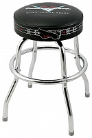 "FENDER 24"" CUSTOM SHOP LOGO BARSTOOL барный стул"