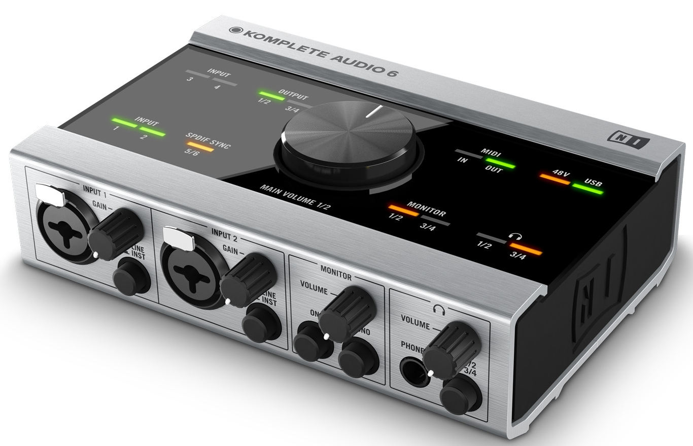 Native Instruments Komplete Audio 6  USB аудио интерфейс