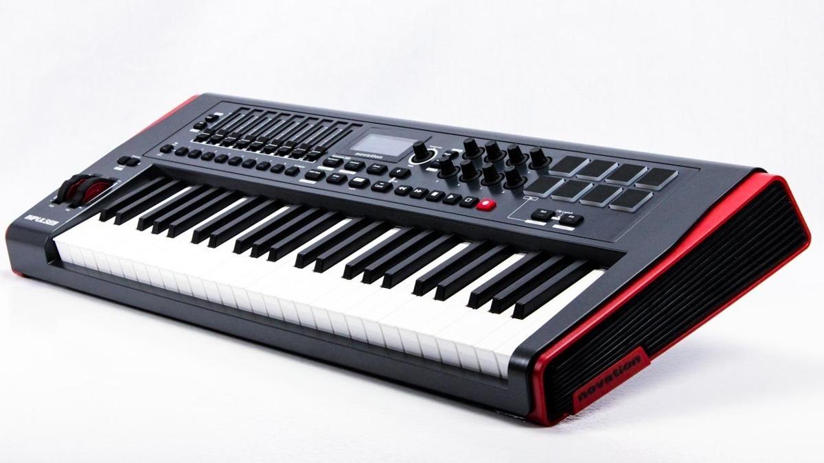 NOVATION Impulse 49 миди-клавиатура, 49 клавиш, 8 пэдов, Pitch/Mod ...