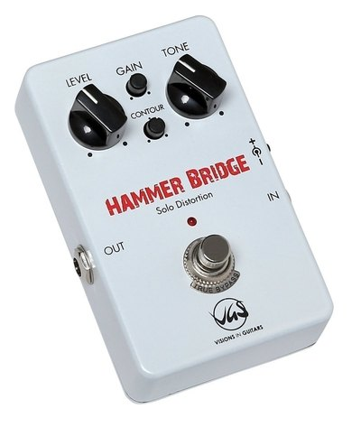 VGS Hammer Bridge Lead Distortion педаль эффектов для электрогитары, дисторшн