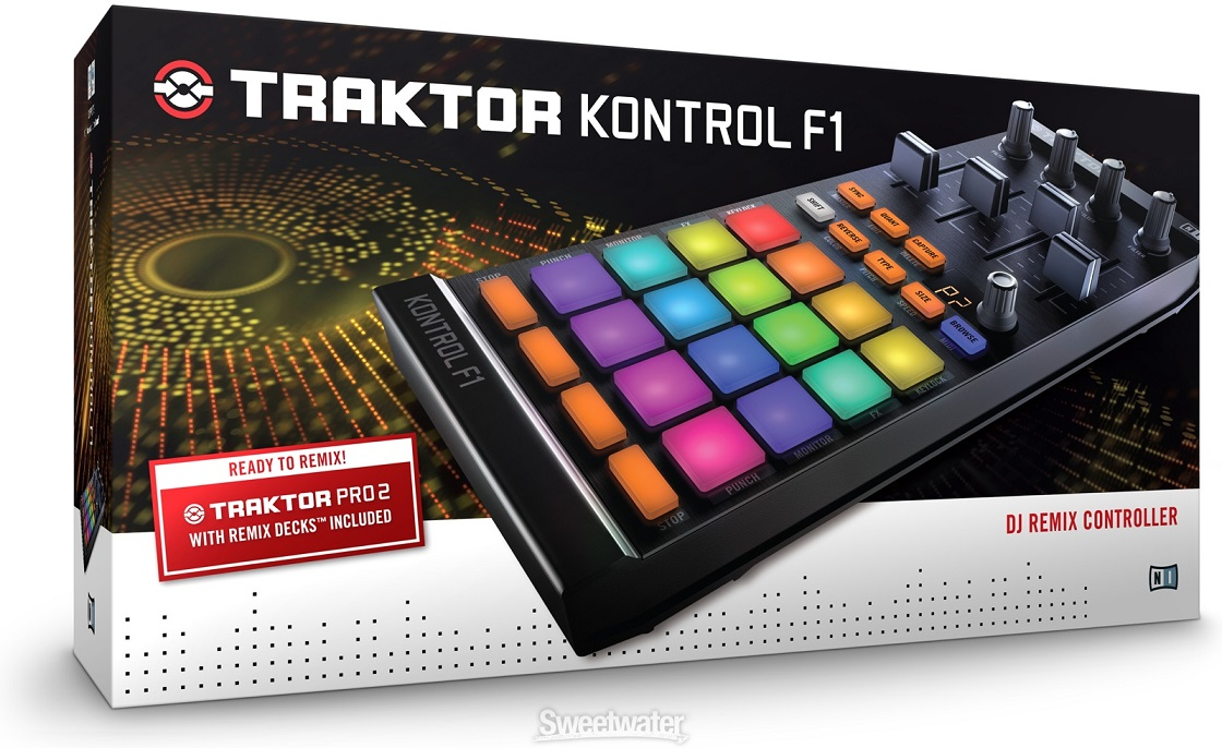 Native Instruments Traktor Kontrol F1  DJ контроллер для Traktor Remix Decks