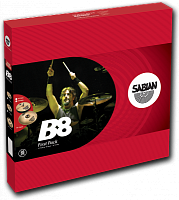 "SABIAN B8 FIRST PACK  набор из 2 тарелок (HiHat14"", Crash 16""), сплав бронза B8"