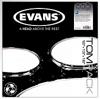 "EVANS ETP-PC1CLR-F Набор пластиков 10"",12"",14"" Power Center Clear"