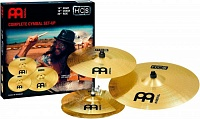 "MEINL HCS-141620 - комплект тарелок HH-14"", Crash-16"", Ride-20"" - Medium, сплав латунь MS63 (медь 63%, цинк 37%)"