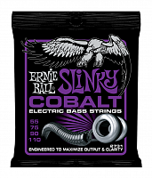 Ernie Ball 2731 струны для бас-гитары Cobalt Bass Power Slinky (55-75-90-110)
