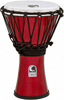 "TOCA TFCDJ-7MR Freestyle Metallic Red джембе 7"" (17.8 см), высота: 12.5"" (31.8 см)"