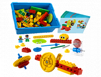 LEGO Education Machines and Mechanisms 9656 Первые механизмы