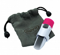 NUVO jSax Mouthpiece Assembly in tote bag (White/Pink) мундштук для jSax, материал пластик, цвет белый/розовый, чехол в комплекте