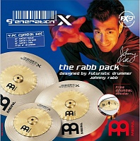 MEINL GX-12/16/18  комплект эффект-тарелок: GX-18SR (Safari Ride), GX-16SC (Safari Crash), GX-12SH (Safari Hihat)