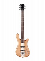 Warwick STREAMER STAGE I 5 Natural Satin  5-струнный бас PRO SERIES TEAMBUILT, цвет натуральный