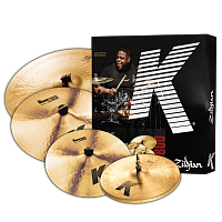 "ZILDJIAN K0800 K CYMBAL SET набор тарелок (14"" K HiHat, 16"" K Dark Crash Thin, 20"" K Ride, 18"" K Dark Crash Thin)"