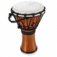 "TOCA TFCDJ-7MO Freestyle Colorsound Djembe X-Small Metallic Orange джембе, синтетика, 7""х12,5"""