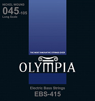 Olympia EBS415 струны для бас-гитары Nickel Wound (45-65-85-105)