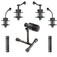 Beyerdynamic TG Drum Set Pro L Комплект для озвучивания барабанов: 1xD70d, 1x ST 99, 2xD57c, 2xD58c, 2xI53c