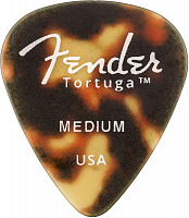 FENDER TORTUGA PICKS 351 MED медиатор, средний