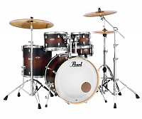 Pearl DMP925F/C260  ударная установка из 5-ти барабанов, цвет Satin Brown Burst, стойки в комплекте