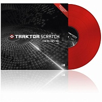 Native Instruments Traktor Scratch Pro Control Vinyl Red Mk2