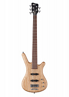 Warwick CORVETTE ASH 5 Natural Oil  5-струнный бас PRO SERIES TEAMBUILT, цвет натуральный