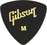 GIBSON APRGG-73M 1/2 GROSS BLACK WEDGE STYLE/MEDIUM медиатор
