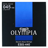 Olympia EBS440 струны для бас-гитары Nickel Wound (45-65-80-100)