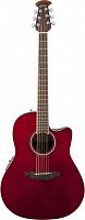 OVATION CS24-RR Celebrity Standard Mid Cutaway Ruby Red электроакустическая гитара