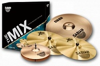 "SABIAN B8/XS20 Mix 14""/16""/18""/20'' GARAGE Set (BX5003) Набор тарелок; диаметр: 14"" B8 хай-хэт, 16"" XS Medium-Thin крэш, 18"" XS20 Medium-Thin крэш, 20"" B8 райд; сплав mix"