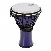 "TOCA TFCDJ-7MI Freestyle Colorsound Djembe X-Small Metallic Indigo джембе, синтетика, 7""х12,5"""