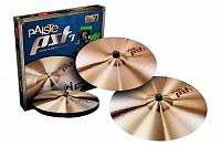 PAISTE PST 7 MEDIUM/UNIVERSAL SET  набор тарелок (Hi-hat 14`, Crash 16`, Ride 20`)