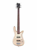 Warwick STREAMER CV 5 Natural Satin  5-струнный бас PRO SERIES TEAMBUILT, цвет натуральный