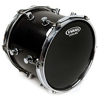 "EVANS TT18RBG  нижний пластик 18"" Resonant Black для том-тома, цвет черный"