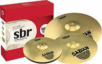 SABIAN SBR Performance Set (14'' Hi-hats, 16'' Crash 20'' Ride) комплект тарелок