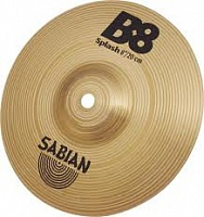 "SABIAN B8 8"" SPLASH  тарелка Splash 8"", сплав бронза B8"