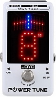 JOYO JF-18 Power Tune - Multi Power Supply Chromatic Pedal Tuner тюнер/блок питания педалей