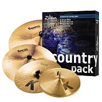 ZILDJIAN K0801C A Custom Country Cymbal Set набор тарелок