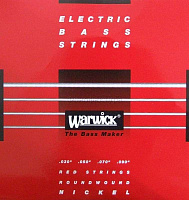 Warwick 46220EL4  струны для бас-гитары Red Label 30-90, никель