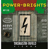 THOMASTIK RP110 струны серии Power-Brights для электрогитары, 10-50