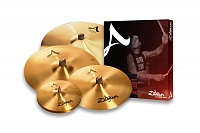 ZILDJIAN A391 A SWEET RIDE BOX SET набор тарелок (14' HiHats 16' Crash 18' Crash 21' Ride)