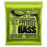 Ernie Ball 2832 струны для бас-гитары Nickel Wound Bass Regular Slinky (50-70-85-105)