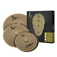 "ZILDJIAN LV468 L80 Low Volume 14"" HiHat/16"" Crash/18"" Crash Ride Box Set набор тарелок"