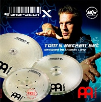 "MEINL GX-TB14/16/18 - комплект тарелок, состоит из 18"" Generation X Signal Crash / Klub Ride, 16"" Generation X Synthetik Crash, 14"" Generation X Filter China"