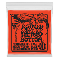 Ernie Ball 2624 струны для электрогитары 8-STRING SLINKY SKINNY TOP HEAVY BOTTOM