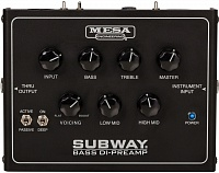 MESA BOOGIE SUBWAY® BASS DI-PREAMP  предусилитель DI для бас-гитары