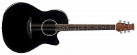 APPLAUSE AB24AII-5 Balladeer Mid Cutaway Black акустическая гитара