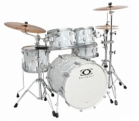 DRUMCRAFT Series 7 Progressive Maple Liguid Chrome/Satin Chrome HW Барабанная установка, клен