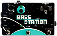 PIGTRONIX BSC Bass Station Custom Shop Pedal преамп для бас-гитары