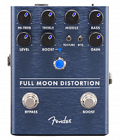 Fender Full Moon Distortion Pedal педаль эффектов хай-гейн дисторшн