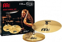 "MEINL HCS-1418  комплект тарелок HH-14"", Crash-Ride-18"" - Medium, сплав латунь MS63 (медь 63%, цинк 37%)"