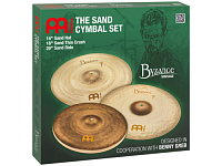 "MEINL BV-141820SA  комплект тарелок серии Byzance: 14"" Sand Hat, 18"" Sand Thin Crash, 20"" Sand Ride"