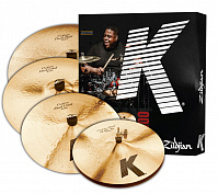"ZILDJIAN KCD900 K CUSTOM DARK 5 PC CYMBAL SET набор тарелок (14"" HiHat, 16"" Crash, 20"" Ride, 18"" Crash)"