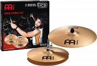 "MEINL MCS1416  комплект тарелок HH-14"", Crash -16"" Medium, сплав бронзы B8"